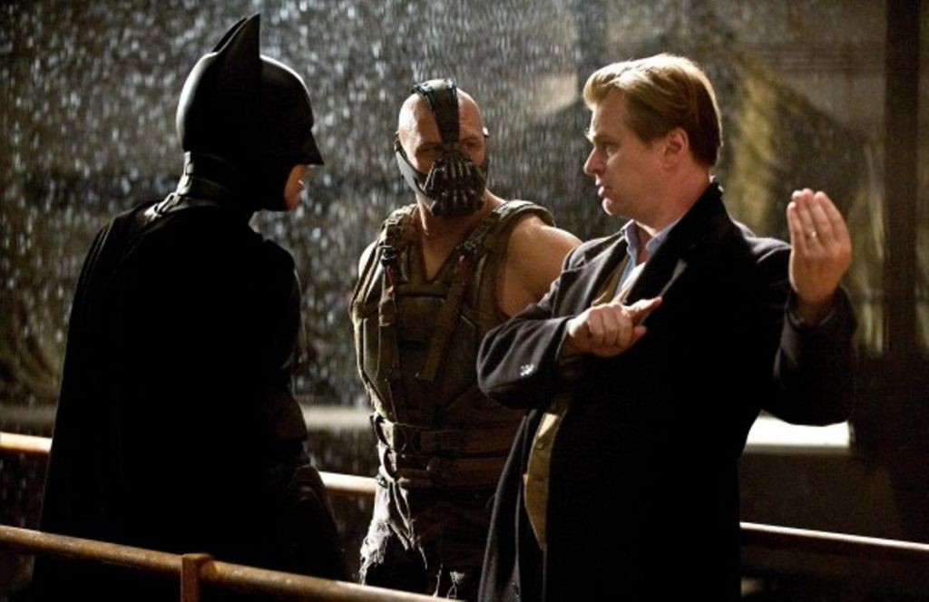 Christopher Nolan in The Dark Knight