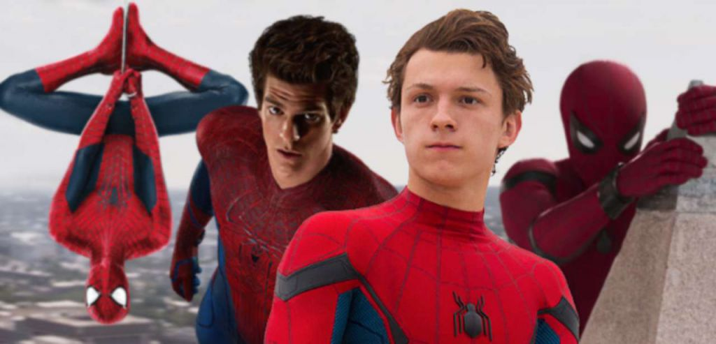 Spider-Man Tom Holland Andrew Garfield