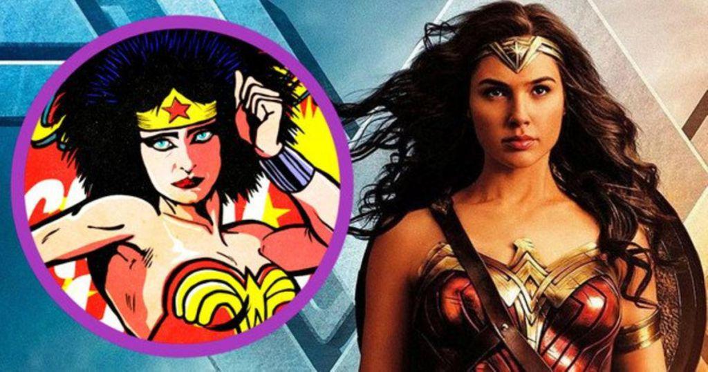 Wonder Woman Cartoon Gal Gadot