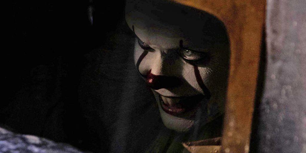 Bill Skarsgard as Pennywise in It