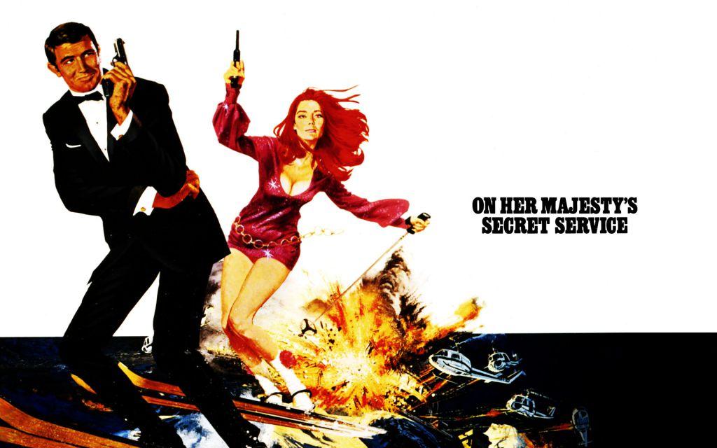 James Bond on Her Majesty's Secret Service