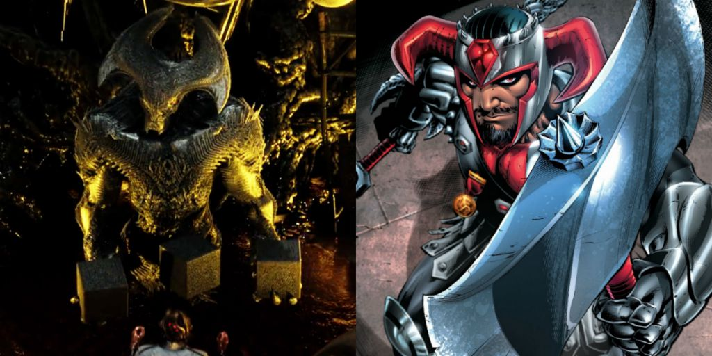 Justice League Villain Steppenwolf