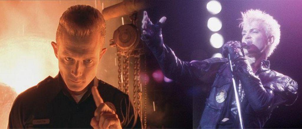 Robert Patrick Billy Idol Terminator