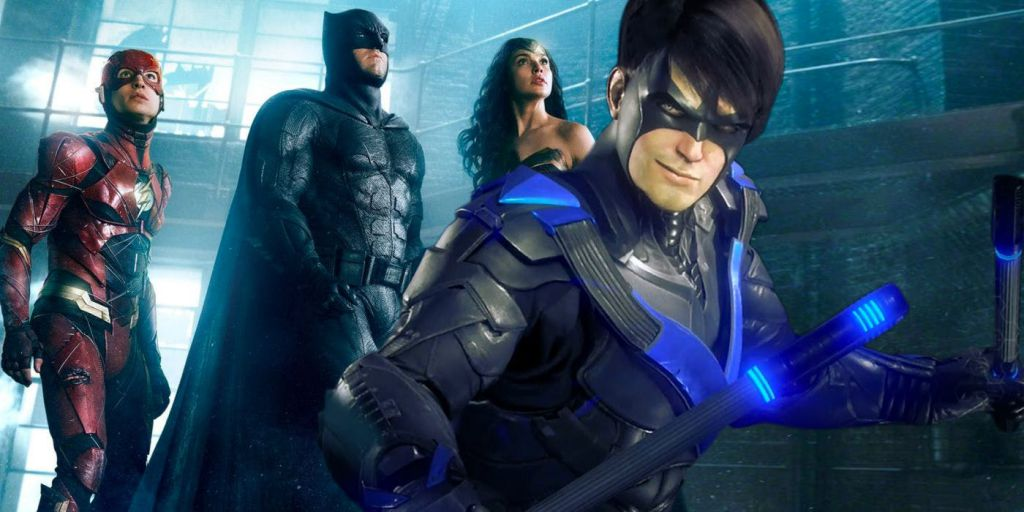 Nightwing in Justice League