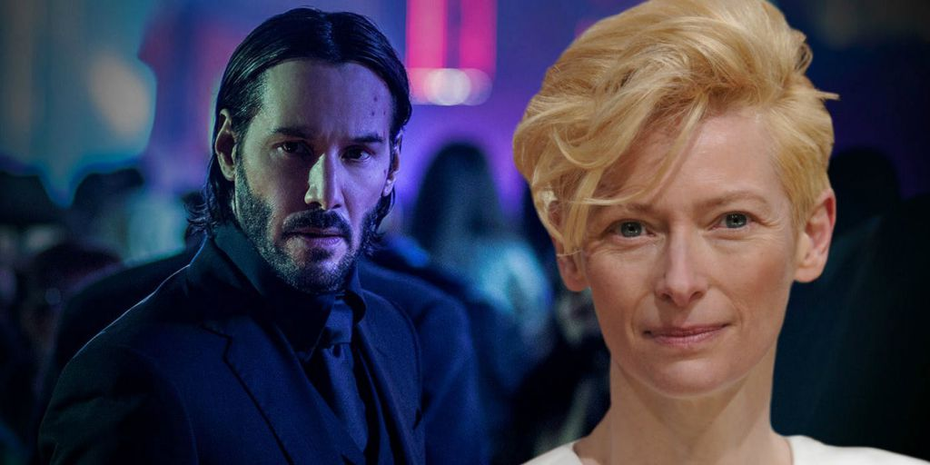 Tilda Swinton for John Wick Chapter 3