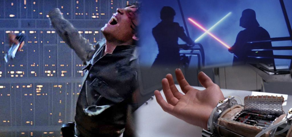 Star Wars Luke Skywalker Hand