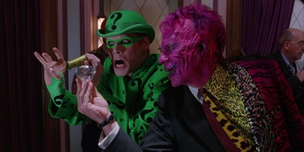 Batman Forever Riddler and Two Face
