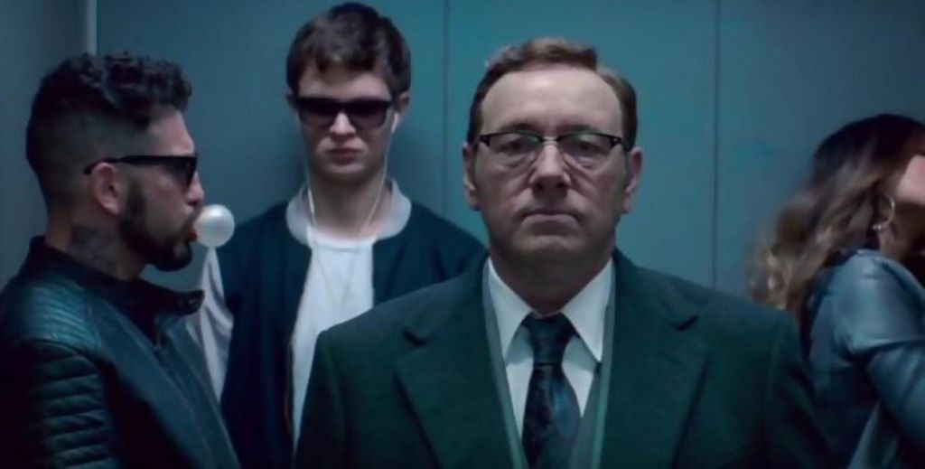 Kevin Spacey in Baby Driver