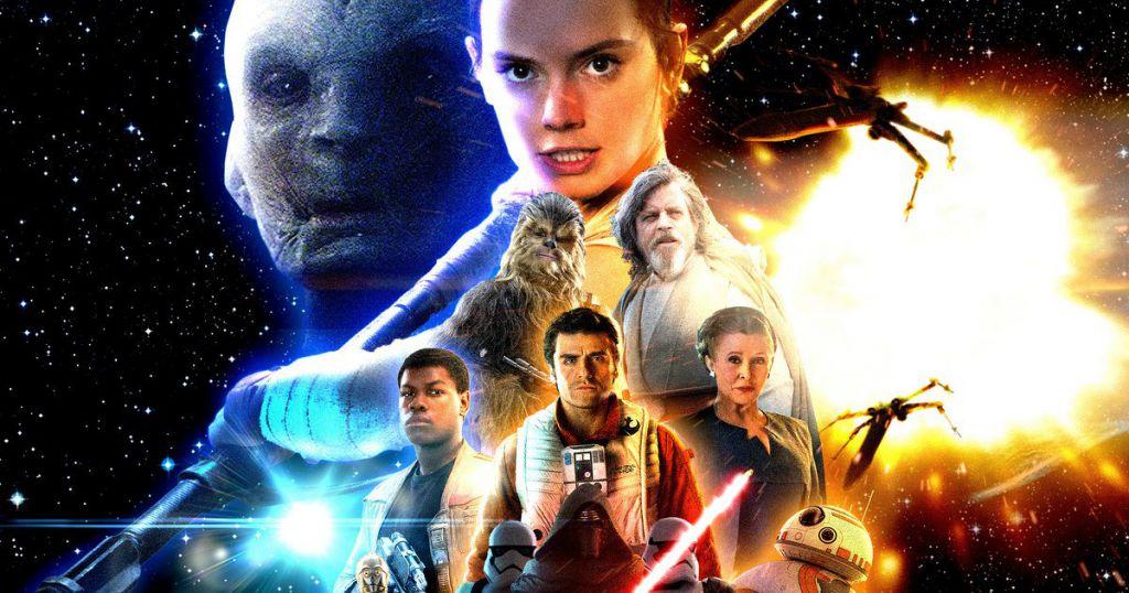 Star Wars The Last Jedi Opening Scene