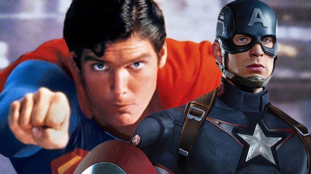 Chris Evans Captain America Superman