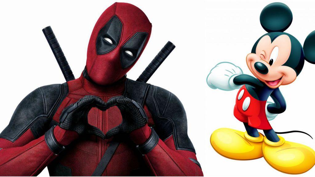 Deadpool Mickey Mouse