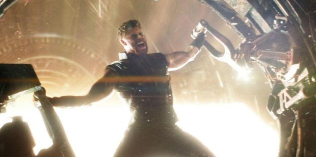 Chris Hemsworth in Infinity War