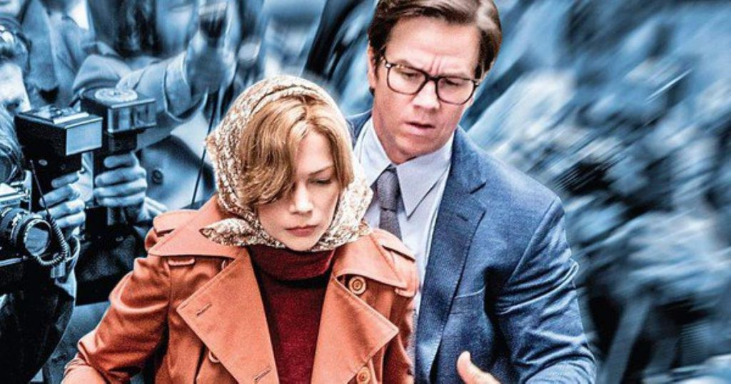 Michelle Williams Mark Wahlberg All the Money in the World