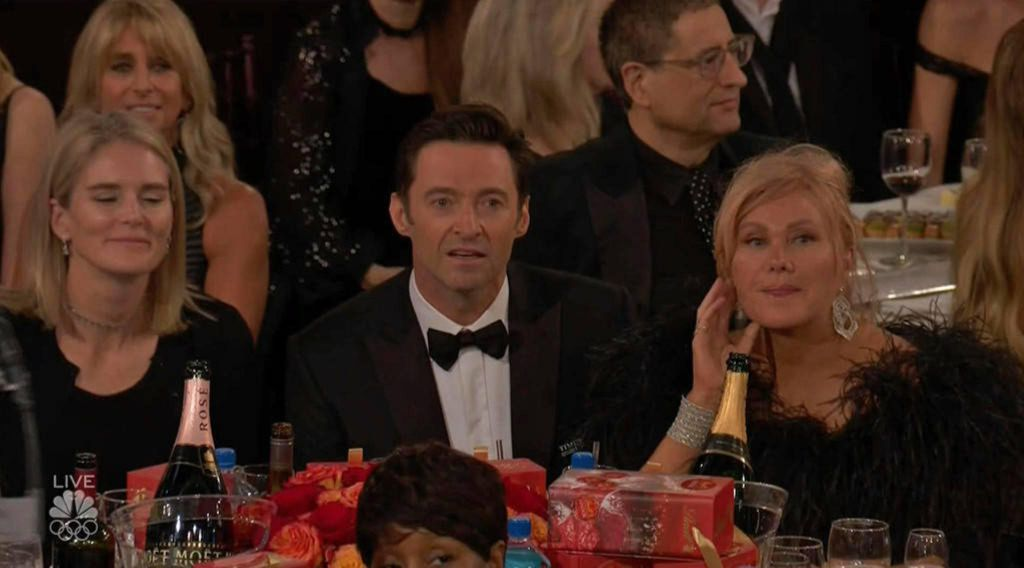 Hugh Jackman Golden Globes
