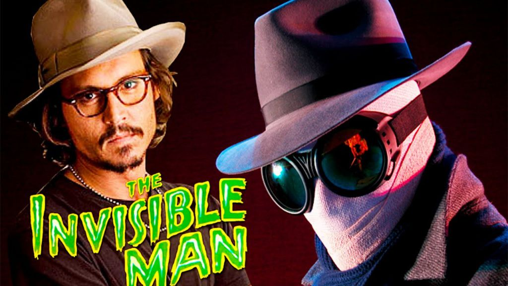 The Invisible Man Johnny Depp