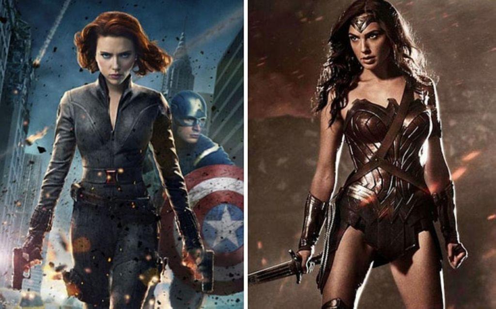 Wonder Woman Black Widow MCEU
