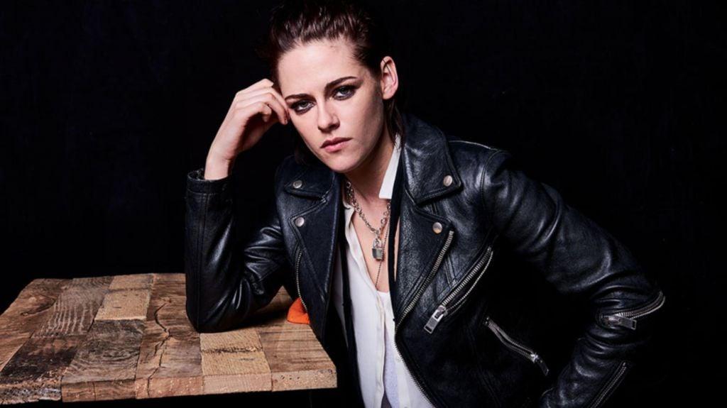 Kristen Stewart Jacket Pose
