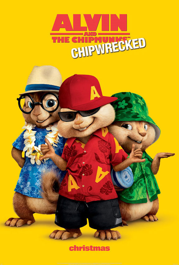 Alvin and the Chipmunks - Chipwrecked Poster