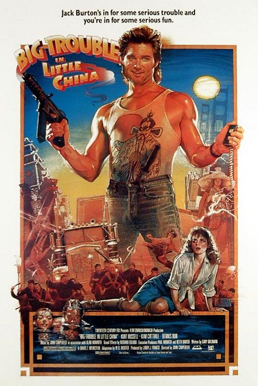 Big Trouble in Little China Poster