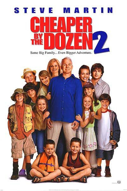 Cheaper By The Dozen 3 Trailer