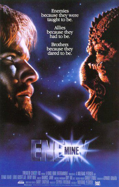 Enemy Mine Poster