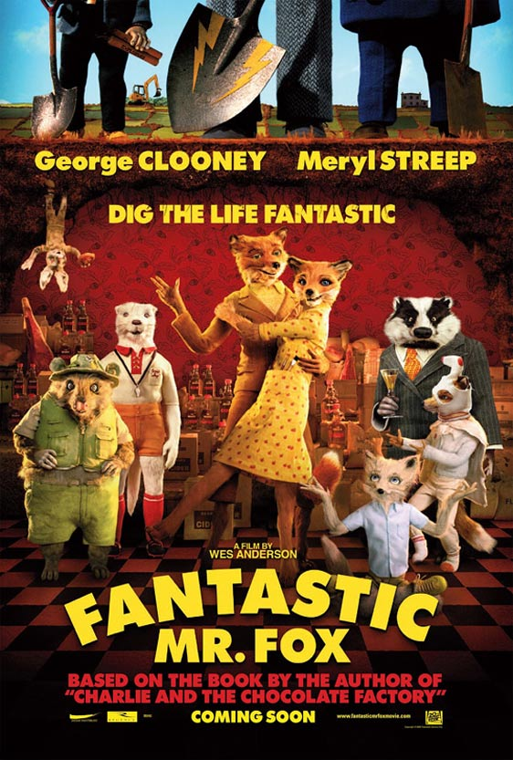 The Fantastic Mr. Fox Poster
