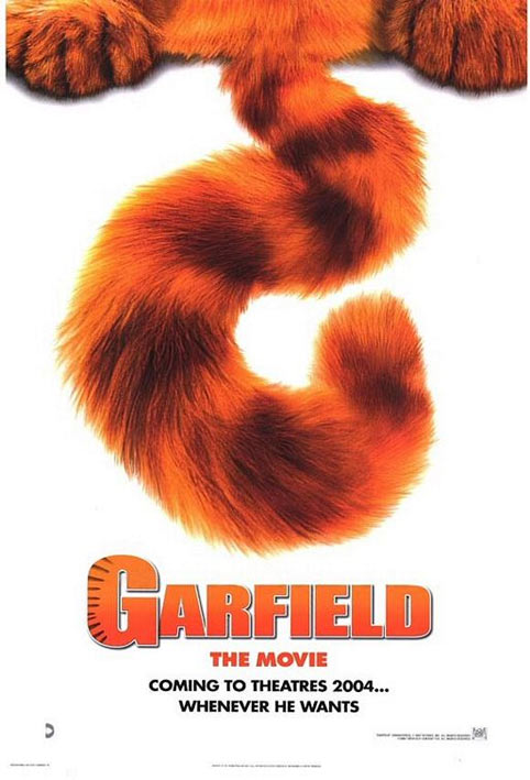 Garfield: The Movie Poster
