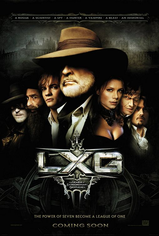 The League of Extraordinary Gentlemen Poster