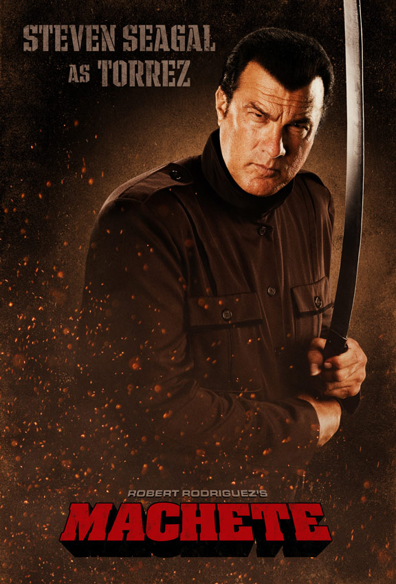 Steven Seagal Machete