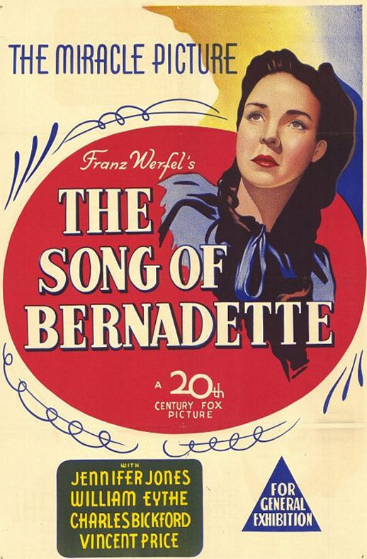 The Song of Bernadette Poster