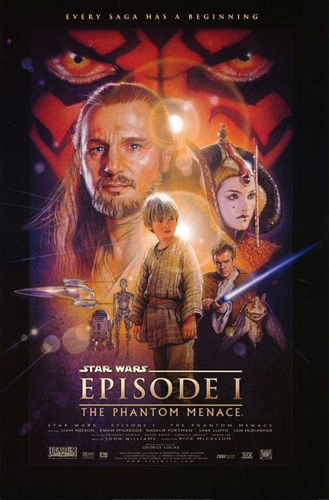 Star Wars Episode I: The Phantom Menace Poster