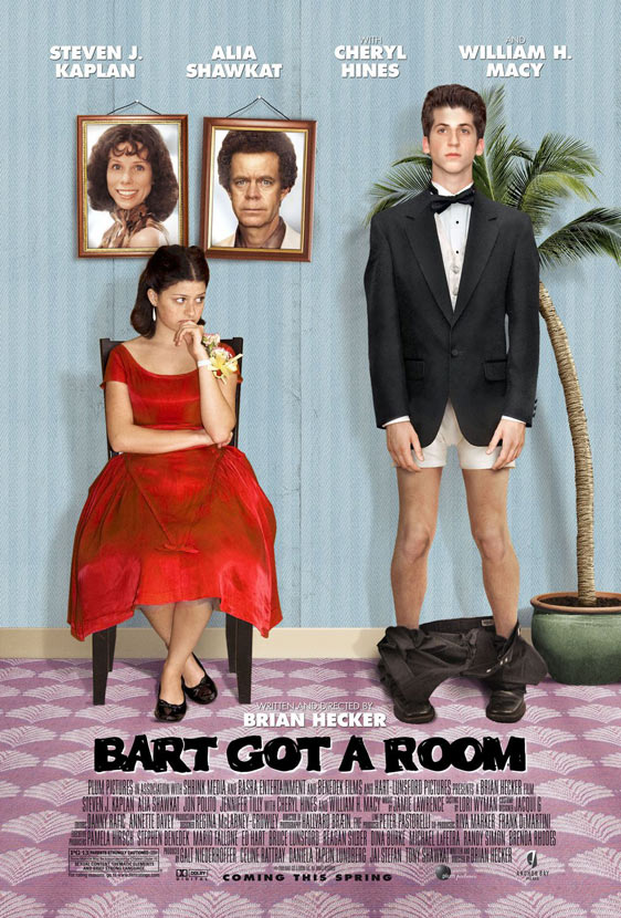 Bart Got a Room Poster