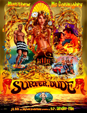 Surfer Dude Poster