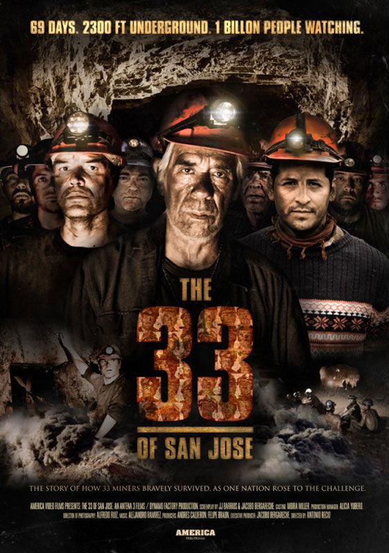 Atacama's 33 (The 33 of San Jose) Poster
