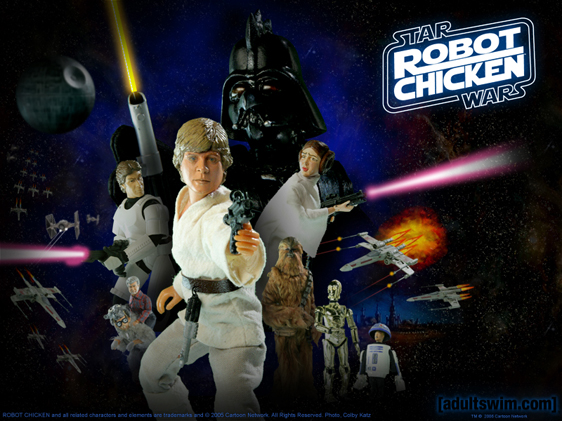 Robot Chicken: Star Wars Poster
