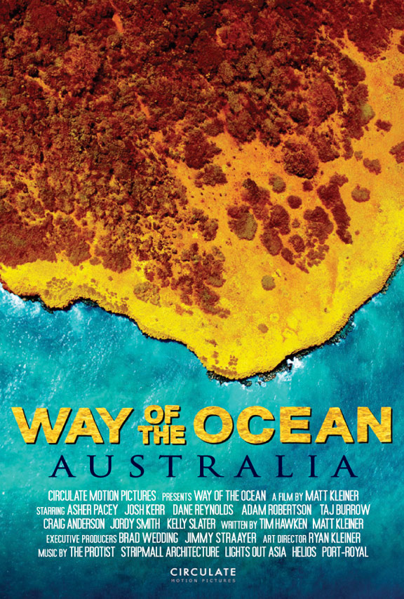Way of the Ocean: Australia Poster