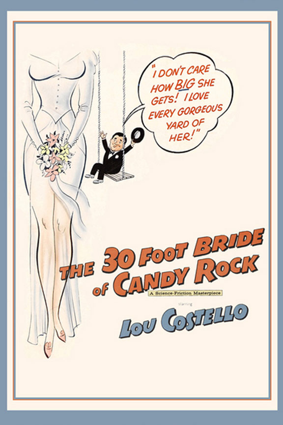 The 30 Foot Bride of Candy Rock Poster