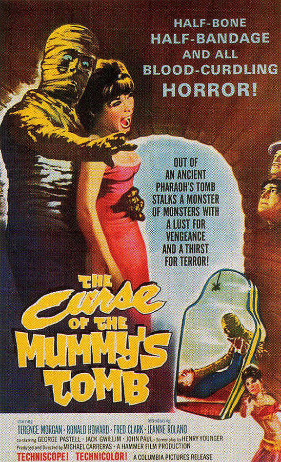 The Curse of the Mummy's Tomb Poster