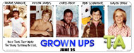 Grown Ups: Interview - Sandler, James, Rock and Spade