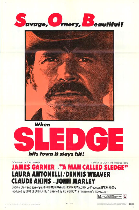 A Man Called Sledge Poster