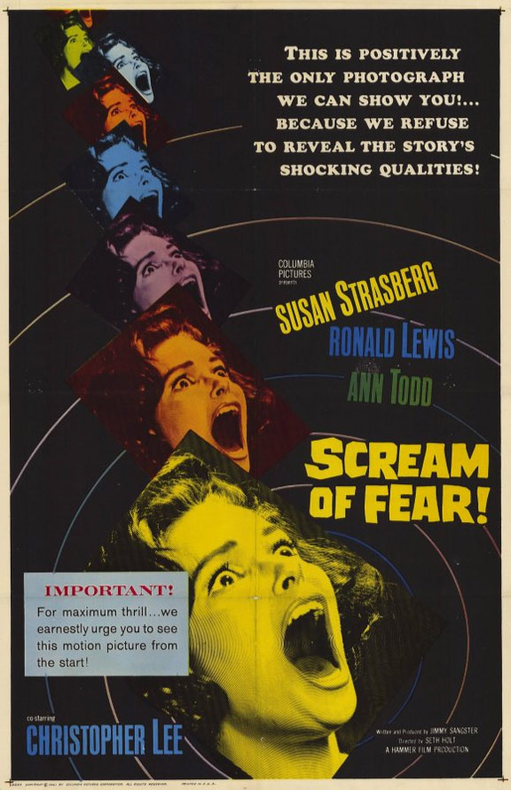 Scream of Fear Poster