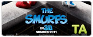 The Smurfs: Junket Interview - Neil Patrick Harris & Jayma Mays II