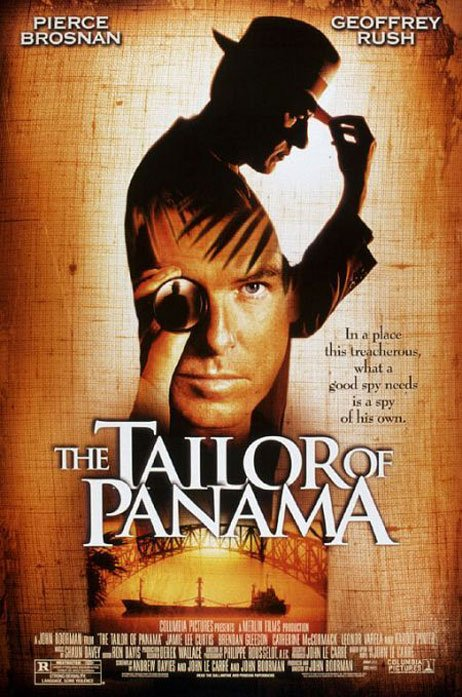 The Tailor of Panama Poster