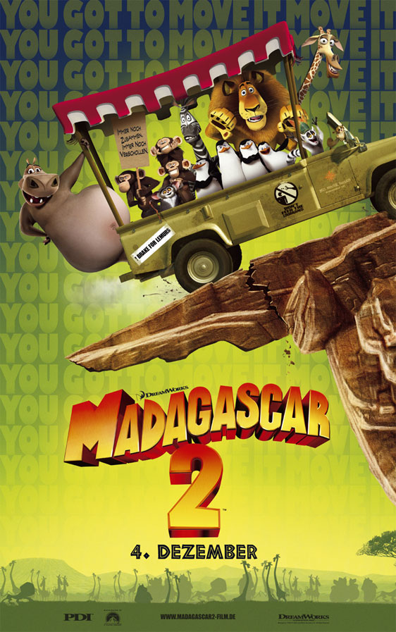 Madagascar: Escape to Africa Poster