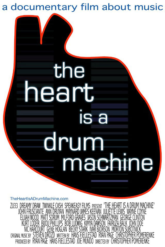 The Heart Is a Drum Machine Poster