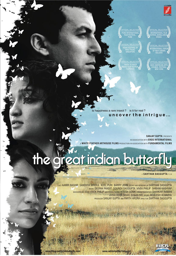 The Great Indian Butterfly Poster