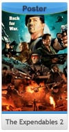 The Expendables 2 - Comic Con Poster