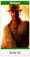 Indiana Jones and the Kingdom of the Crystal Skull - Widget