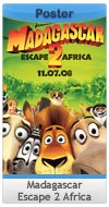 Madagascar: Escape 2 Africa - One-Sheet