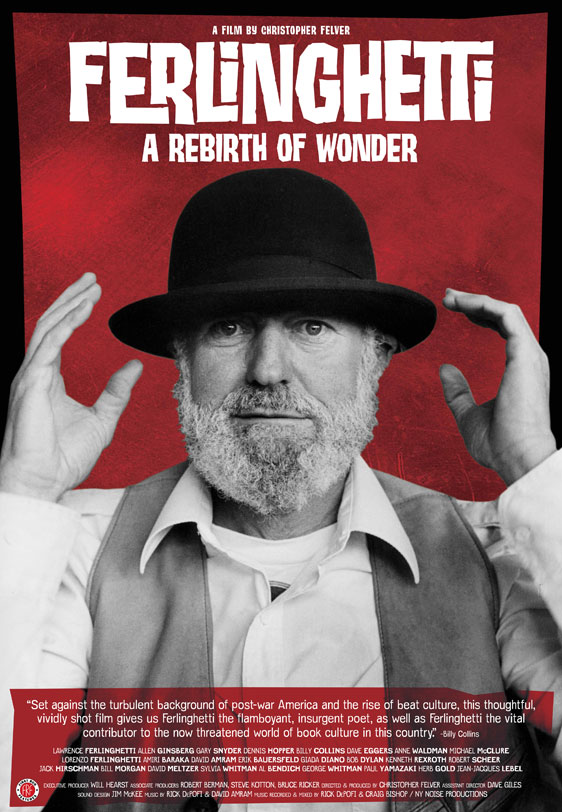 Ferlinghetti A Rebirth of Wonder Poster